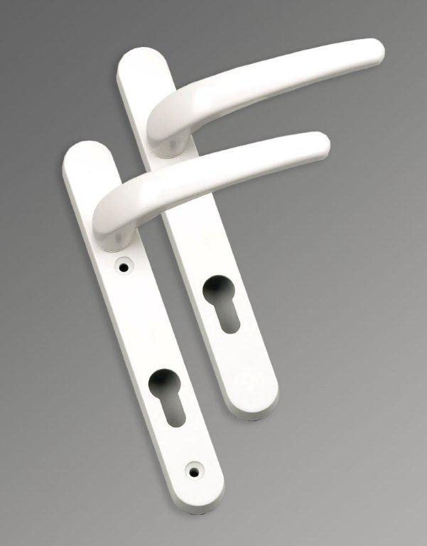 Pvc door handles window handles locks letterboxes for Upvc french door locks